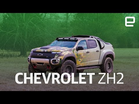 Chevrolet Colorado Zh2 First Look Youtube