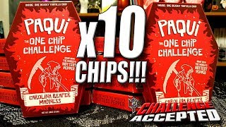 PAQUI ONE CHIP CHALLENGE x10 CHIPS!!!│WORLD'S HOTTEST CHIP