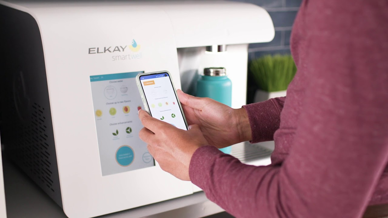 Elkay Smartwell Countertop Beverage Dispenser, Touchless Operation (:30)