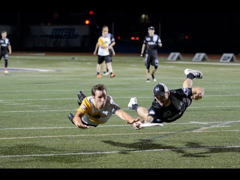 Full Game: Pittsburgh Thunderbirds at Minnesota Wind Chill — 2017 AUDL Playoffs