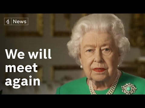 """Queen Tells UK """"we Will Succeed"""" Against Coronavirus In Rare Address To The Nation"""
