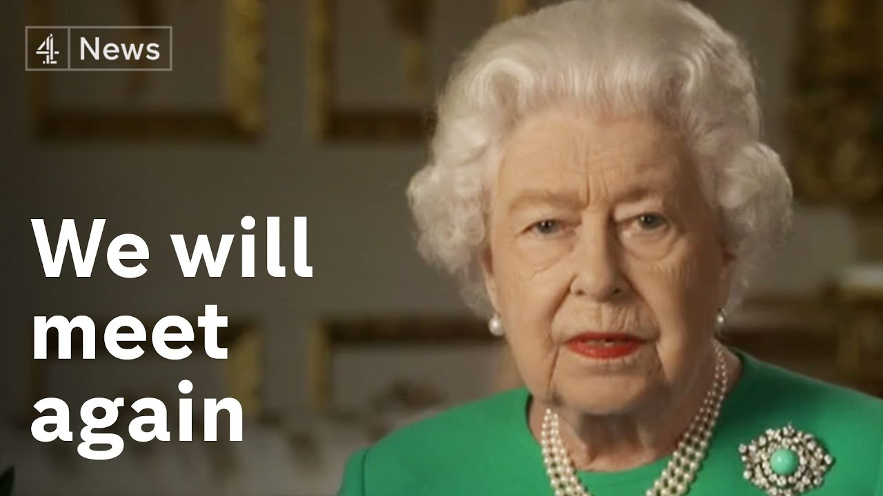 """Download Queen tells UK """"we will succeed"""" against Coronavirus in rare address to the nation"""