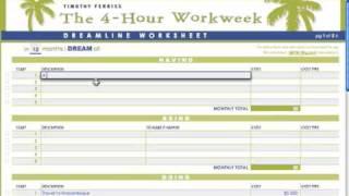 Danny Rampling Tips: The 4 Hour Workweek