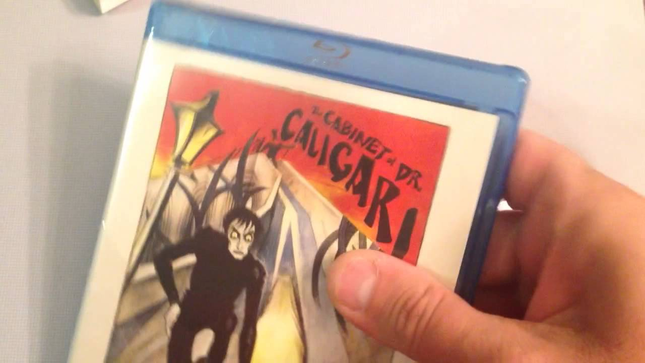 on the cabinet of dr caligari blu ray