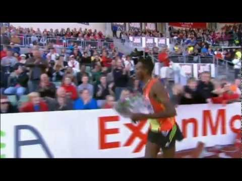 Men's 5000m Oslo Diamond League