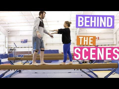 Trick Shots Behind the Scenes | Brodie Smith & Shawn Johnson