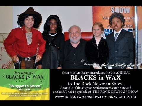 Cora Masters Barry and 7th Annual Blacks In WAX on The Rock Newman Show