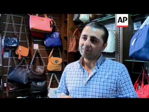 Trading at famous Damascus souk suffers amid continuing conflict