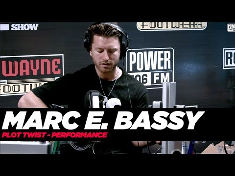 Marc E. Bassy Performance Plot Twist To A Fan