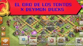 Clash of Clans (EL ORO DEL TONTO)
