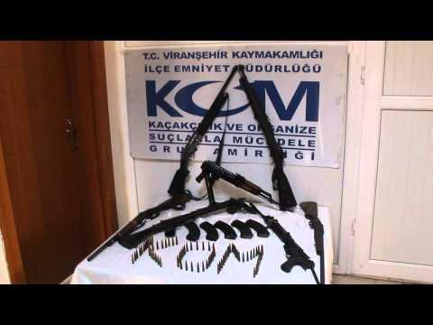 viranşehir silah kaçakçılara oparasyon