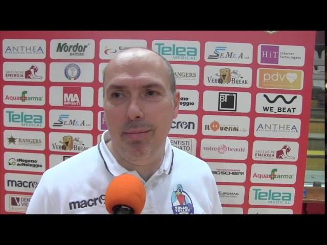 VOLLEY - AntheaVi-VolanoTN, 3-0 - intervista a coach Parlatini