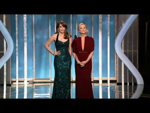 Golden Globes 2013   Tina Fey and Amy Poehler
