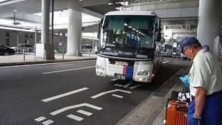 【前面展望】関西国際空港~阪神尼崎駅~JR尼崎駅【阪神バス】