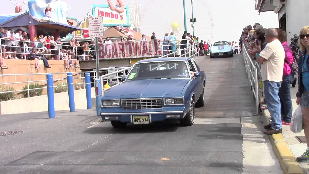 Wildwood NJ Boardwalk Classic Car Spring YouTube - Wildwood car show