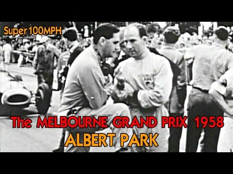 The Melbourne Grand Prix 1958 Albert Park