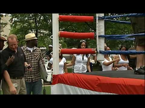 Mayor Larry Langford Boxing In Birmingham