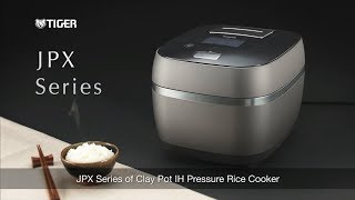 Pressure IH Rice Cooker with Clay Ceramic Inner Pot JPX