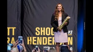 UFC Hall of Fame 2018 Induction Ceremony Highlights - MMA Fighting