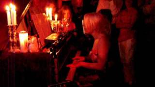 Little Boots - Acoustic Live at The Bath House - Running Up That Hill (Kate Bush Cover)
