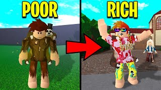She Turned Me POOR TO RICH.. What She Wanted WILL SHOCK YOU! (Roblox)