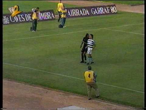 Académica - 0 x Sporting - 3 de 1994/1995 Particular