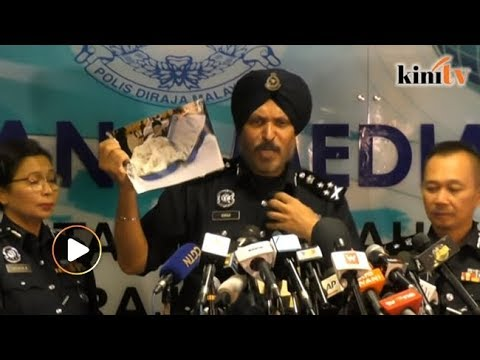 'Bijan' antara beg yang dirampas polis