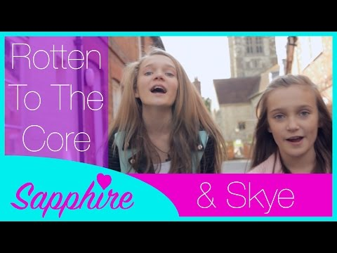 Descendants - Rotten to the Core - Cover by 12 year old Sapphire and 10 year old Skye