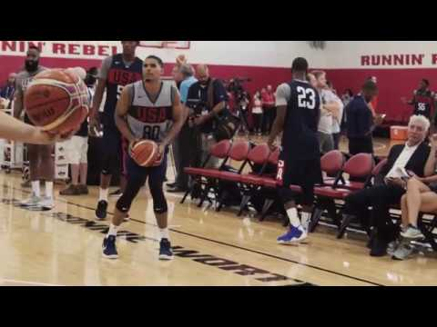 2c36203d4c6b Tobias Harris at the 2018 USA Basketball Men s National Team Mini Camp