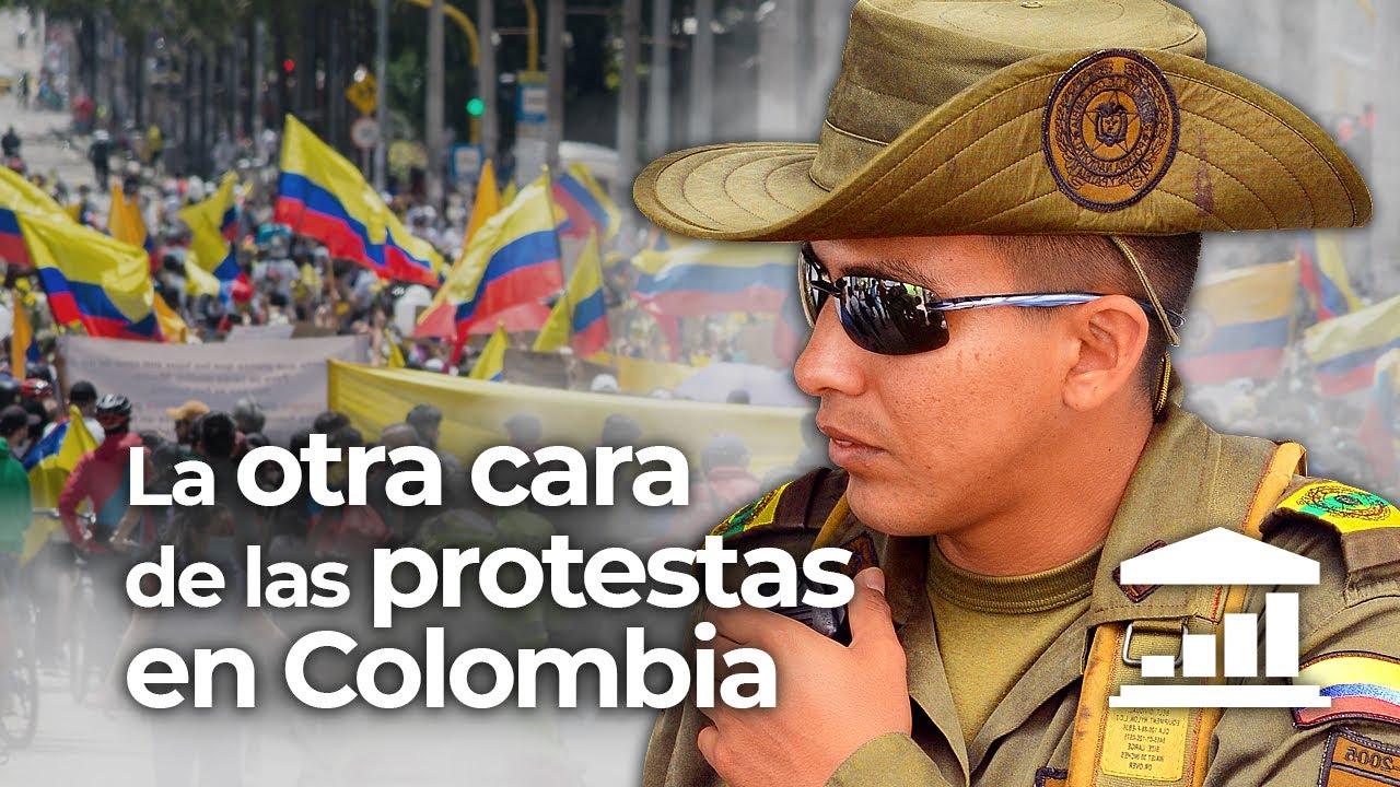 ¿Por qué la POLICÍA COLOMBIANA es TAN VIOLENTA? - VisualPolitik