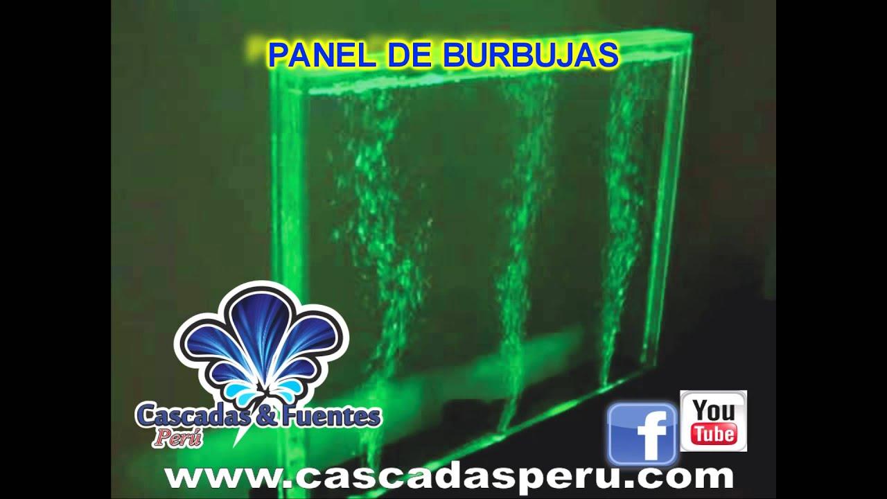 Cascadas artificiales fuentes de agua piletas muro for Como construir piletas de material