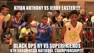Kiyan Anthony Is Clutch Like His Dad!!! Black Ops NY VS #1 6th Grade Team In The Nation!!