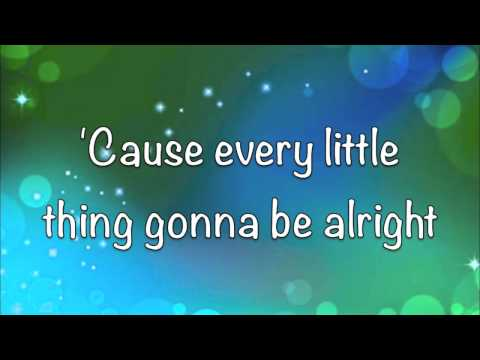 Bob Marley  Three Little Birds  Lyrics!!  HD