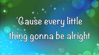 Bob Marley - Three Little Birds - Lyrics!! - (HD) - Stafaband