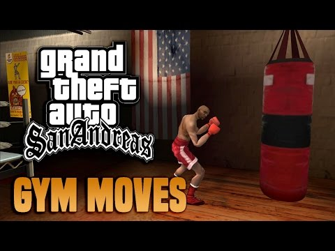 GTA San Andreas - Gym Moves