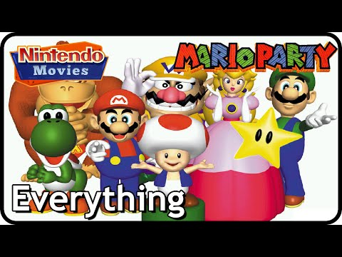 Mario Party - All Board Games / All Mini-Games / Stadium / Mini-Game Island / EVERYTHING