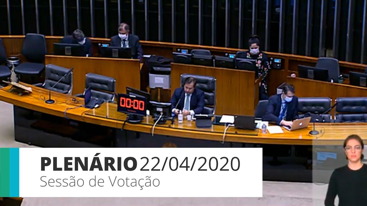 Plenário – Deputados podem votar incentivo ao microcrédito durante pandemia – 22/04/20