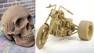 Top 50 Cardboard Sculptures In The World (Part-1)