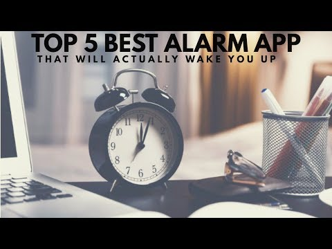 Top 5 Best  Alarm App || That Will Actually Wake You Up