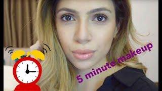 5 Min Makeup Challenge (talk through)
