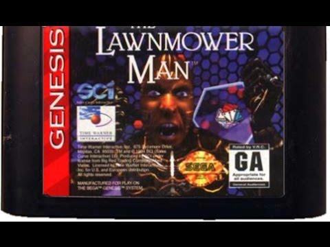 (EPISODE 1,029) RETRO GAMING: THE LAWNMOWER MAN (SEGA)  VR GAME SEPTEMBER 23,1994
