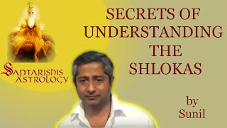 Saptarishis Astrology: Secrets to understanding the shlokas