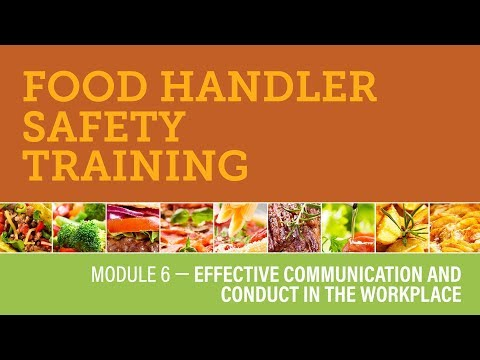 Module 6 — Effective Communication And Conduct In The Workplace