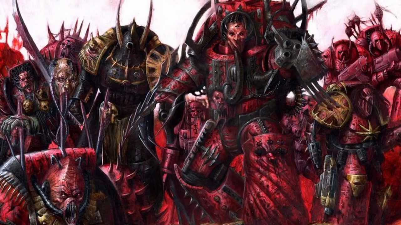 Warhammer 40k - Chaos Temptation - YouTube Warhammer 40k Good Chaos Gods