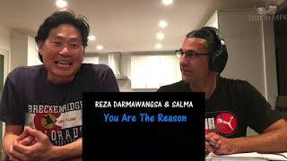 Reaction - REZA DARMAWANGASA & SALMA -  You Are The Reason MP3
