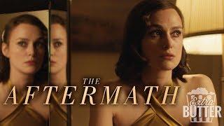 'The Aftermath' movie review & Interviews with Keira Knightley & Alexander Skarsgård