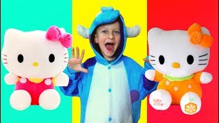 Three little kitten and a funny story with Tawaki kids
