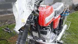 Как нужно мыть мотоцикл