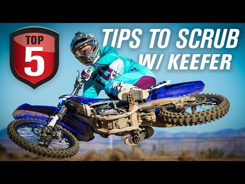 Top 5 Tips for Learning How To Scrub a Dirt Bike Jump w/ Kris Keefer