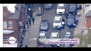 Megadta magát a philadelphiai lövöldöző